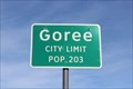 Image for Goree, TX - Population 203