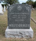 Image for John H. Wolfenberger - Zion Hill Cemetery - Zion Hill, TX