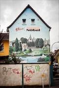Image for Wandgemälde mit Rheinszene, Niederkassel-Mondorf, NRW, Germany