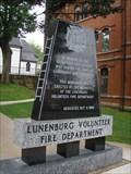 Image for Lunenburg Volunteer Fire Department Memorial, Lunenurg, Nova Scotia