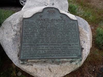 Main plaque