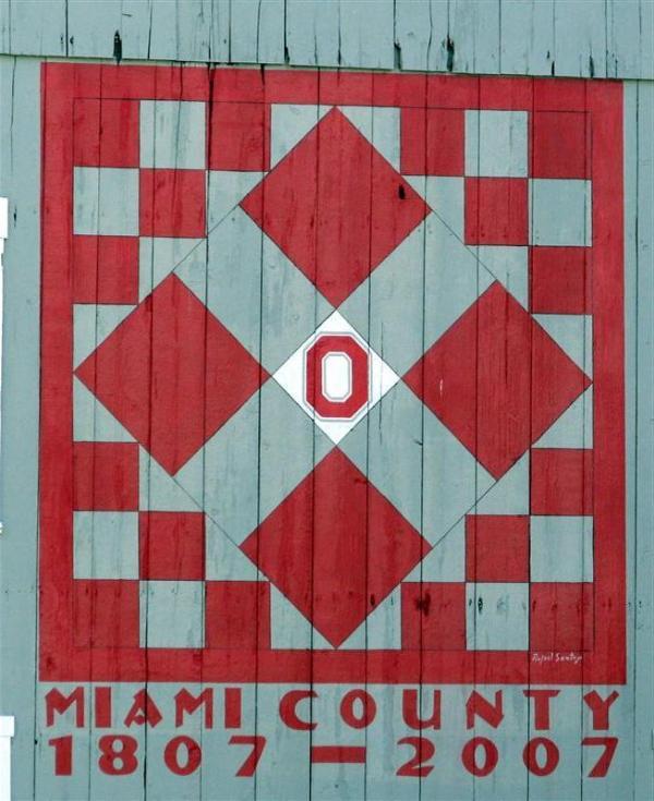 McMillon Barn Quilt - Tipp City, Ohio - Painted Barn ...