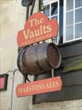 Image for The Vaults Pub Sign - Market Place - Uppingham, Rutland