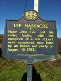 Image for Lee Massacre