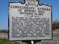 Image for Confederate Attacks at Spring Hill - 3D 73 - Spring Hill, TN
