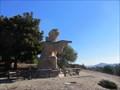 Image for Goofy Father Junipero Serra Statue - Hillsborough, CA