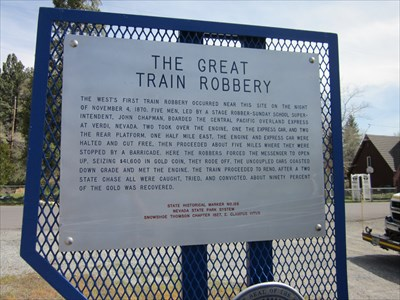 great train robbery of 1870 The great train robbery (1978) goofs high platforms near the train's floor level were not used in british stations until about 1870 6 of 6 found this.