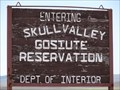 Image for Goshute Skull Valley Indian Reservation - Tooele County, Utah