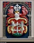 Image for Erb mesta Levoca na Mestskom úrade / Levoca coat of arms on Municipal office - Levoca (North-East Slovakia)