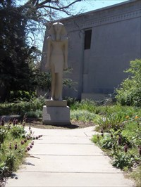 Keeping watch over the Peace Garden
