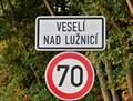 Image for Veseli nad Luznici town & 2599 Veseli Asteroid - Veseli nad Luznici, Czech Republic