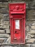 Image for Victorian Wall Post Box - Calverley, near Leeds, Yorkshire, UK