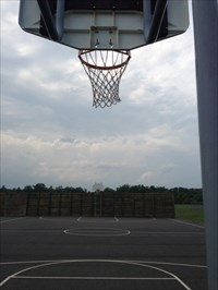 View From Under Net, Falmouth, Virginia