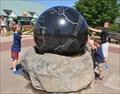 Image for Ethel Frances Crate Memorial Kugel Globe ~ Tulsa, Oklahoma