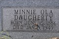 Image for Minnie Ola Dougherty or Daugherty -- Hillcrest Cemetery, Forney TX