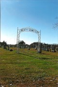 Image for Liberty Cemetery Arch - near Shamrock, MO
