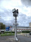 Image for Street Clock Ostrava-Kuncice, Czech Republic