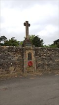 Image for Combined WWI / WWII memorial cross - St Mary - Ashwell, Rutland