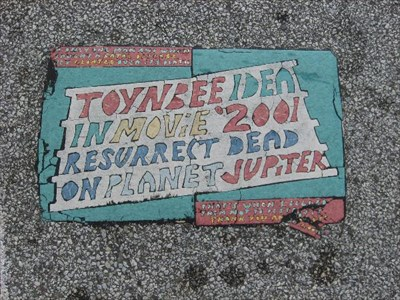 Cleveland Oh Toynbee Tiles