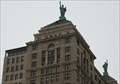 Image for Statues of Liberty - Liberty Building, Buffalo, NY