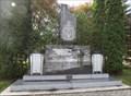 Image for Lac du Bonnet War Memorial - Lac du Bonnet MB