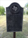 Image for Fox Cemetery