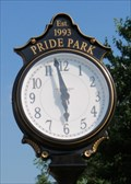 Image for Pride Park Clock  -  New Cumberland, WV