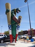 Image for Big Tex Rex - Dinosaur - Amarillo, Texas, USA.