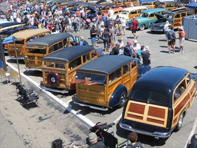Woodies On The Wharf Santa Cruz CA Hot Rod Hangouts And Car - Santa cruz car show