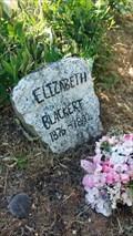 Image for Elizabeth Blackert - Rock Point Pioneer Cemetery