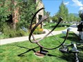 Image for Barbara Perry Cosel Memorial Sundial, Bud Werner Memorial Library - Steamboat Springs, CO