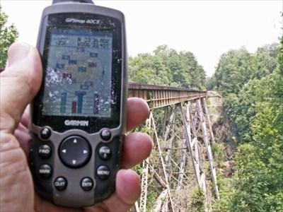 My GPSr & the Bridge