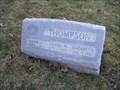 Image for Thompson Family Monument, Fairmont, WV