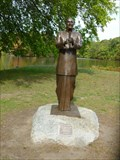 Image for 4429 Chinmoy Asteroid and Statue of Sri Chinmoy - Providence, RI