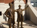 Image for Lincoln-Thornton Debate Statue  -  Shelby County Courthouse, Shelbyville, Illinois.
