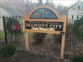 Image for Welcome to Historic Ellicott City Sign - Ellicott City, MD