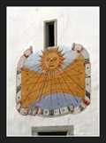 Image for Sundial of the Parish Church of St. Oswald - Seefeld, Austria