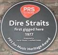 Image for Dire Straits Plaque - Farrer House, Creekside, Deptford, London, UK