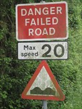 Image for Failed Road Sign - Bucks