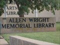 Image for Allen Wright Memorial Library - Oklahoma City, OK