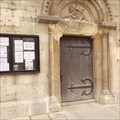 Image for Cut Benchmark with Bolt at St. Mary de Crypt Church