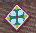 Image for Corn Cross quilt block - Farmers Market - Kingsport, TN