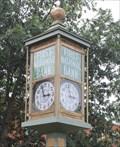 Image for Hilton Center Town Clock -- Cisco TX