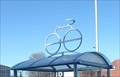 Image for VIA Rail Bike Rack Silhouette Sculpture - Windsor, ON