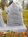 Image for Michael Foren Headstone - Columbia Falls, ME