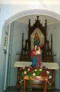 Image for Mater Dolorosa & Madonna and Child - Log Chapel - Starkenburg, MO