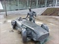 Image for Juan Manuel Fangio - Stuttgart, Germany, BW