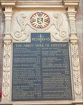 Image for 1939-1945 Abbey Roll of Honour - Shrewsbury - Shropshire, UK.