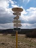 Image for Elevation Sign -  Mohelenská Serpentine Steppe, Mohelno, Czech Republic - 381 m