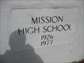 Image for 1926-1977 - Mission High School - San Francisco, CA
